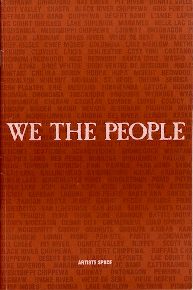We the People catalogue cover