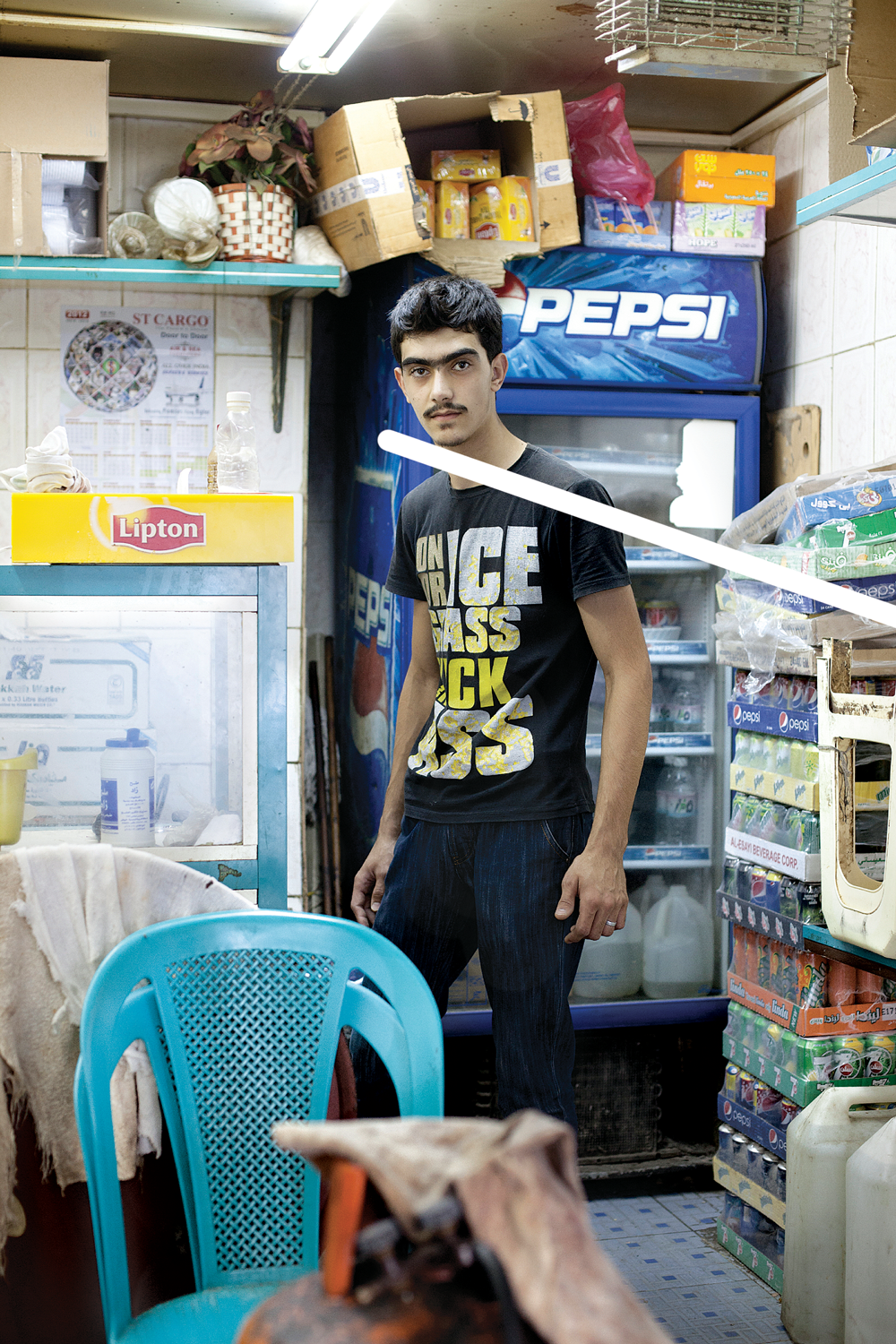 young man, Jeddah, b