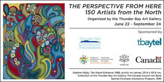 The Perspective From Here: 150 Artists from the North