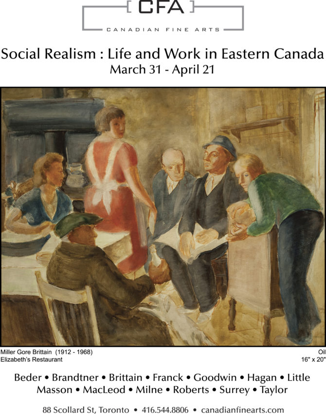 Social Realism: Life and Work in Eastern Canada