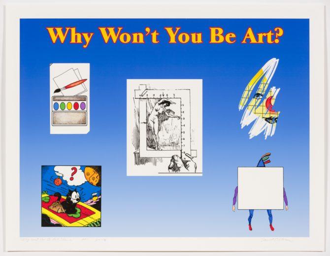 David Ostrem: Why Won't You Be Art?