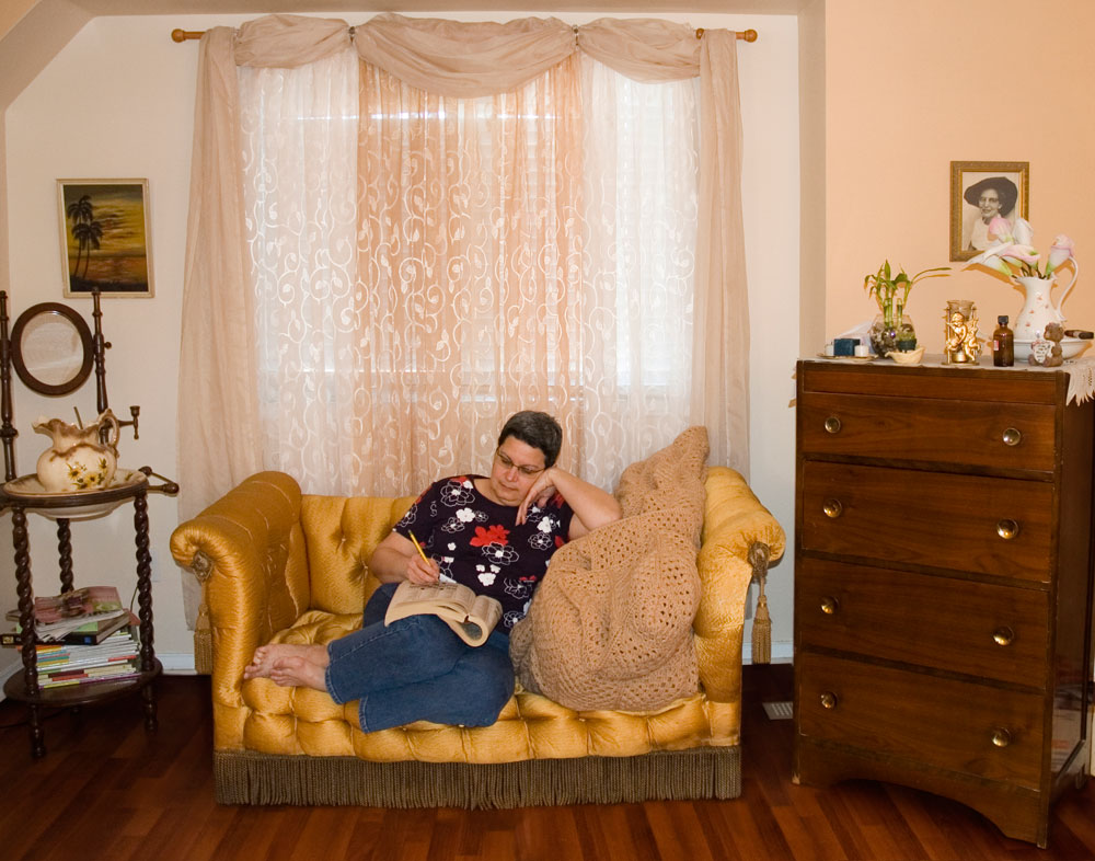 Erika DeFreitas, <em>right there, between here and over there (in her bedroom no. 3)</em>, 2007. Archival inkjet print. Courtesy the artist.